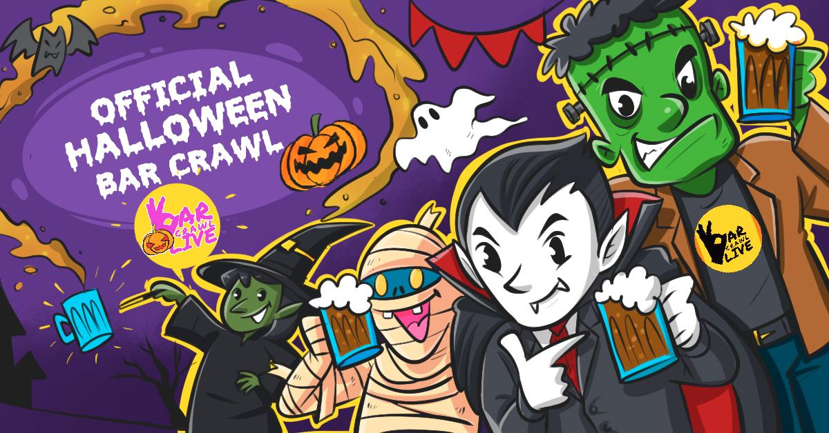 Halloween Pub Crawl In Pittsburgh 2020 Official Halloween Bar Crawl | Pittsburgh, PA   Bar Crawl Live