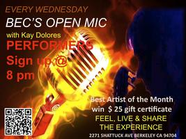 Open Mic hosted by Kay Dolores