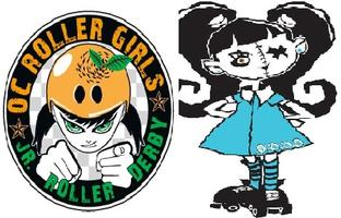 OC Roller Girls Jr. Banked Track Roller Derby - OCRG vs....