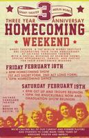 Third  Anniversary Homecoming Weekend for Merlin Works...
