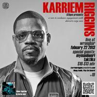 KARRIEM RIGGINS (Stones Throw, Detroit) LIVE, w/ DJ...
