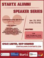 StartX Alumni Speaker Series Kick off event