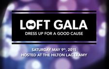 The Loft Gala logo