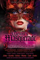 4th Annual Valentine's Masquerade Event & Aquarian Birthday...