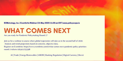 What Comes Next: Pandemic Policy Priorities (Round 2)