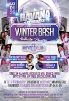 Saturday Jan 26: Winter Bash White Party at Havana Club