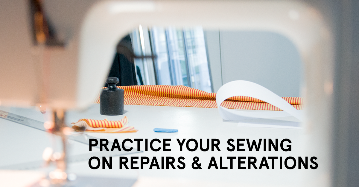 Beginners Sewing Class: Repairs & Alterations