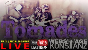 TOMADES - Live auf der Webstage