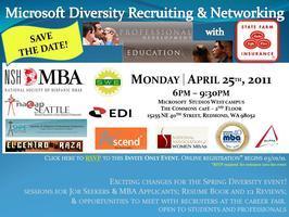 Microsoft Diversity Recruiting & Networking w/ State...