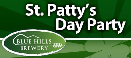 Celebrate St. Patty's at the Blue Hills Brewery!