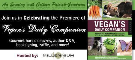 """Vegan's Daily Companion"" Premiere Party!"