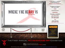 FIRST ANNUAL HIV AWARENESS ART EXHIBITION (NYC)