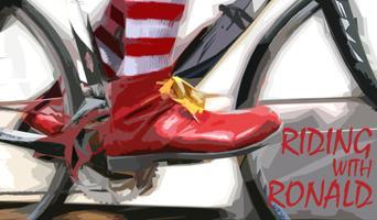 Riding with Ronald