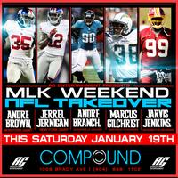AG Entertainment Presents :: MLK Weekend NFL Takeover ::...
