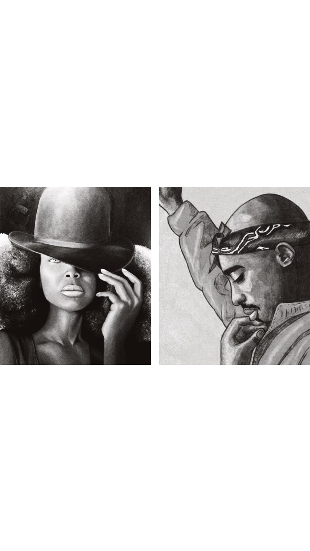BFF Brunch Presents The Paint Party Versus Battle... Erykah Badu Vs. Tupac