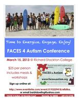 2013 FACES 4 Autism Conference on Autism