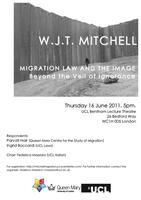 W.J.T. MITCHELL   Migration, Law and Image. Beyond the...