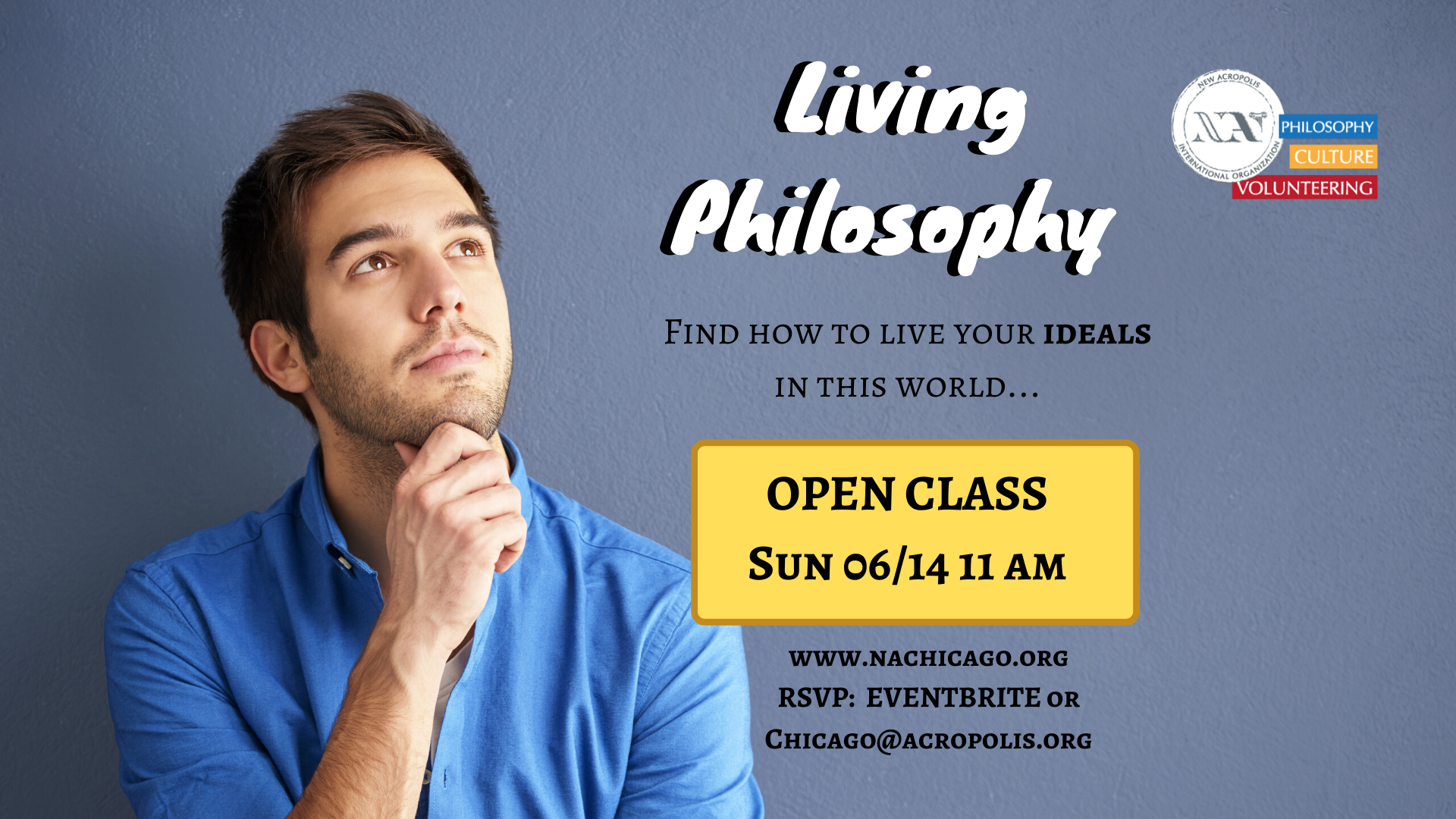 The Living Philosophy course - Open Class