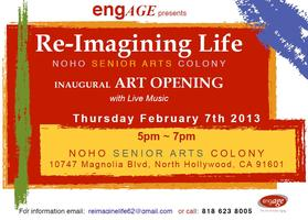 Join the Re-Imagining Life Art Opening at the NoHo...