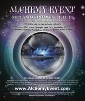 ALCHEMY EVENT METAMORPHOSIS 11:11:11 THE 3 DAYS TICKET...