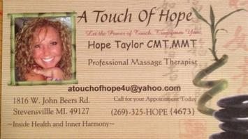A Touch of Hope Massage Therapy