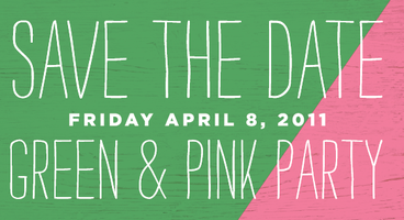 Green and Pink Party