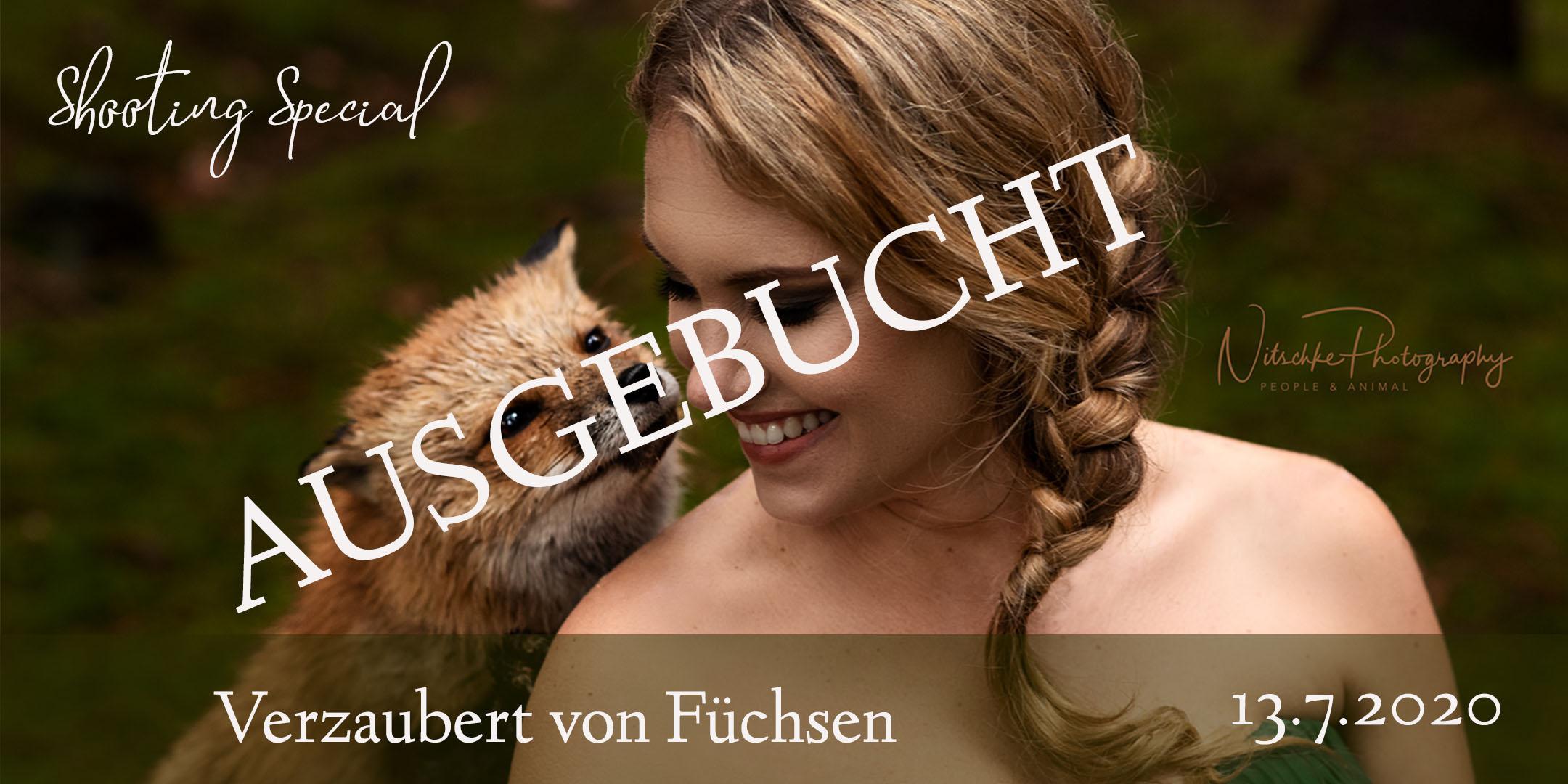 Shooting Special Verzaubert von Füchsen