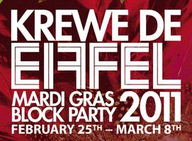 KREWE DE EIFFEL ALL-ACCESS PASS: Hermes, Krewe d'Etat,...