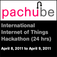 Pachube International Internet of Things Hackathon