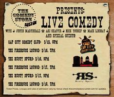 The Comedy Store presents: Live Comedy