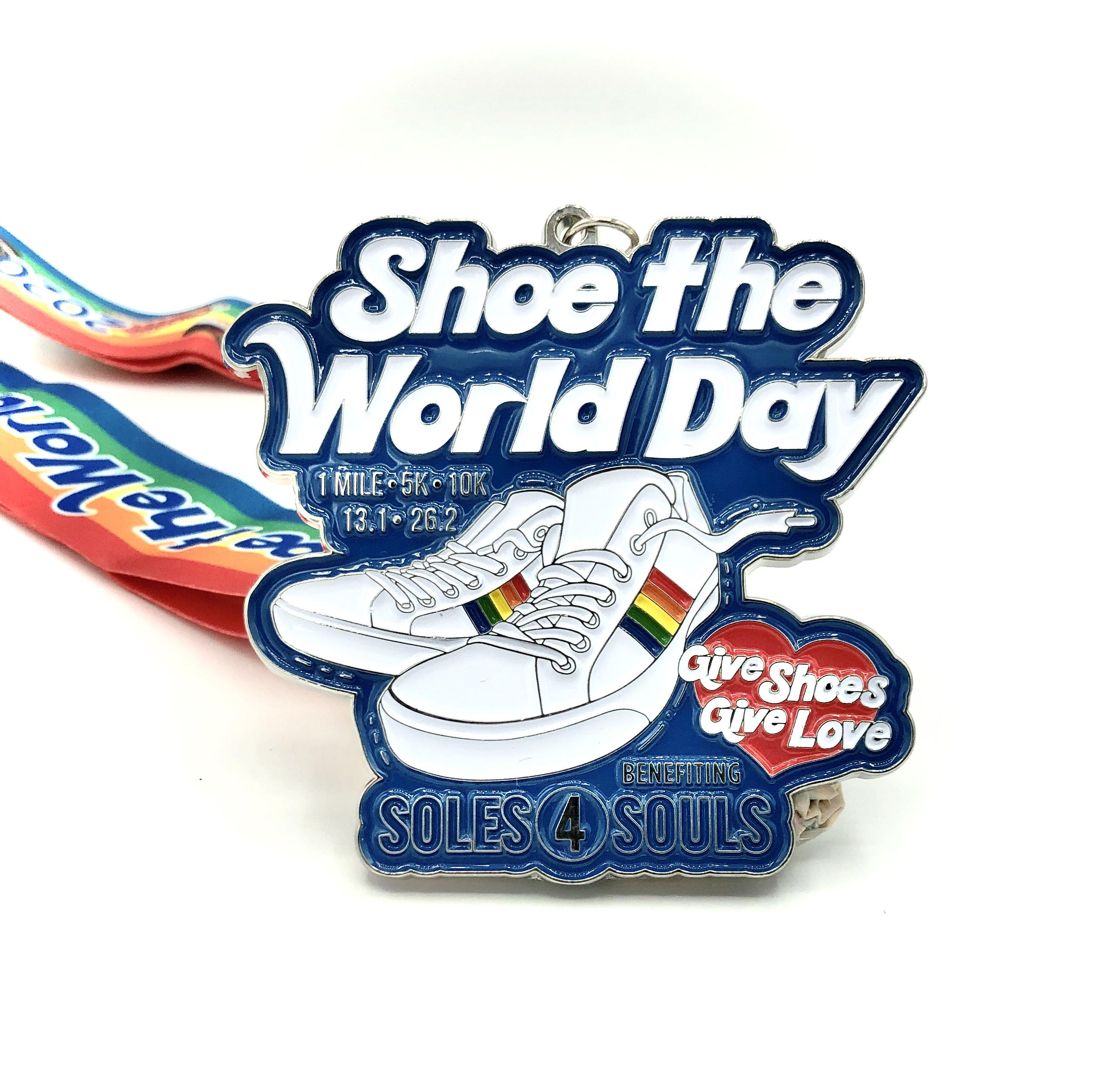 VIRTUAL RACE: Shoe the World Day 1M 5K 10K 13.1 26.2 –Houston