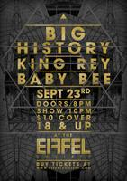 BIG HISTORY / KING REY / BABY BEE CONCERT