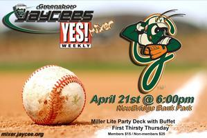 Jaycees / YES! Weekly Mixer at Hoppers Party Deck