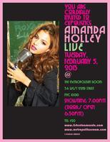 AMANDA HOLLEY LIVE!