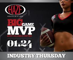 Most Valuable Partier at HAZE Nightclub