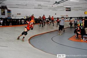 OC Roller Girls (The Hustle) vs. Sugartown Banked Track