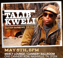 Talib Kweli w/ Jean Grae @ Cannery Ballroom [May 5th,...