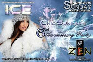 ICE - Chic Sundays' 6 Year Anniversary Persian party