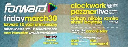 Forward 10 Year Anniversary with Clockwork (life and...