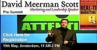 Pre-Summit Keynote David Meerman Scott plus Network...