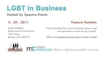Spectra Events Hosts LGBT in Business Series (April...
