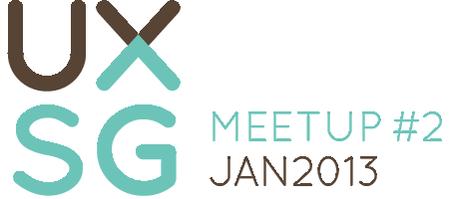 UXSG Meetup #2