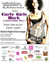 Curly Girls Rock - ATL   *SOLD OUT*