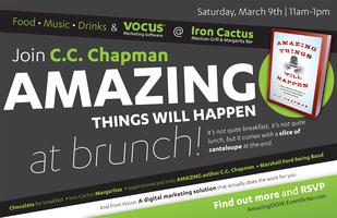 C.C. Chapman's Amazing Things Party (sponsored by Vocus)