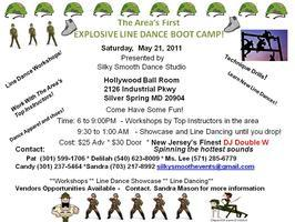 The Area's First EXPLOSIVE LINE DANCE BOOT CAMP