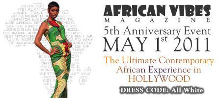 African Vibes Magazine 5th Anniversary Event: The...