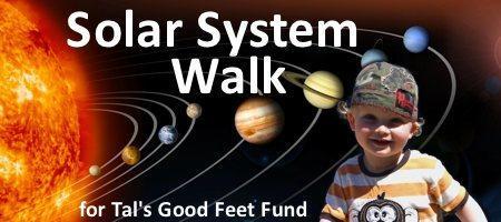 Solar System Walking Tour of Oxford