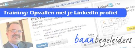 Workshop Opvallen met je LinkedIn profiel