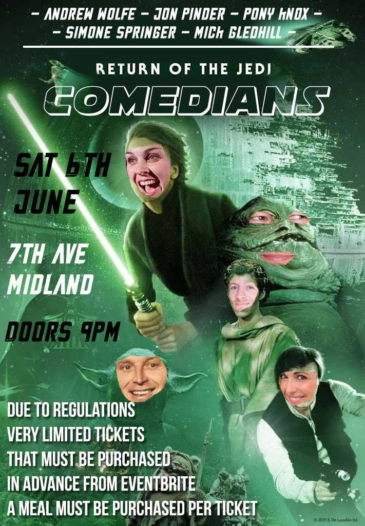 Return of the Comedians - 7th Ave Midland