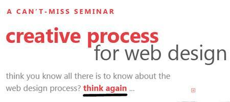 The Web Design Creative Process from A-Z (2 pm - 5 pm...